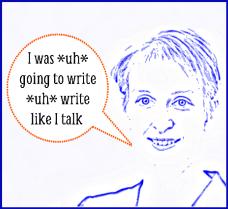 write like you talk