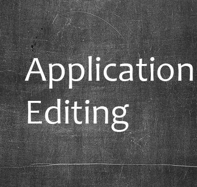 application editing