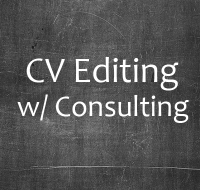 CV Editing - Consulting